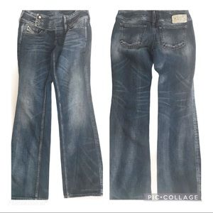 diesel cherock bootcut jeans